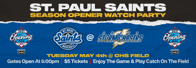 Saints Season Opener Watch Party